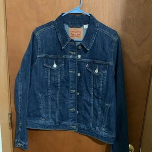 Levi's 505 denim jacket women's XL New w/o tags